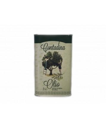 Масло оливковое virgin в жестяной 1 литровой банке