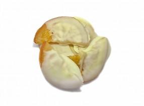 Апельсин в белом шоколаде