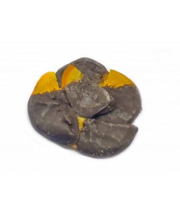 Апельсин в черном шоколаде