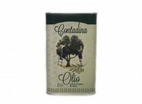 Масло оливковое virgin в жестяной банке (1 литр)
